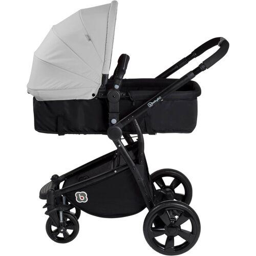BabyGo Kombi-Kinderwagen »Spring, grey«, ; Kinderwagen