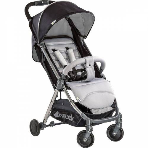 Hauck Kinder-Buggy »Buggy Swift Plus, neon blue/caviar«, silber-kombi