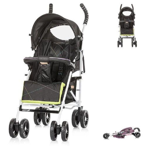 Chipolino Kinder-Buggy »Kinderwagen Buggy Sisi«, Kollektion 2018, Buggy, Rückenlehne einstellbar, schwarz