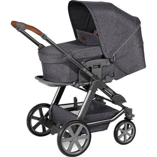 ABC Design Kombi-Kinderwagen »Kombi Kinderwagen Turbo 4, shadow«, dunkelgrau