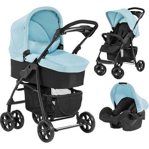 Hauck Kombi-Kinderwagen, blau