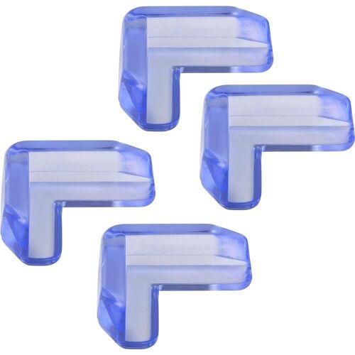 H+H Schutz-Set »BS 858 Kantenschutz für Glastisch«, 4er Pack (4 Stück), praktischer Tischkantenschutz, Schutz für Tischecken am Glastisch