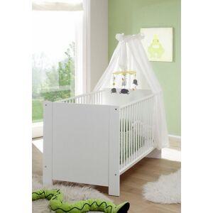 Babyzimmer-Komplettset »Trend«, (Set, 3-tlg), Bett + Wickelkommode + 3 trg. Schrank