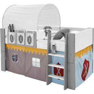 STEENS Vorhang »FOR KIDS«, , Bindebänder (3 Stück), für die Halbhochbetten, bunt