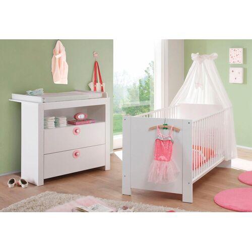 Babymöbel-Set »Trend«, (Spar-Set, 2-tlg), Bett + Wickelkommode