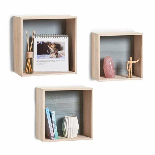Zeller Present Regalwürfel »Cubes«, Set 3-tlg.