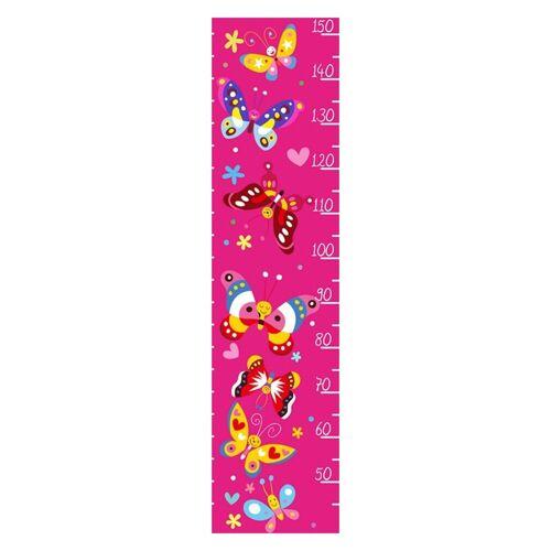 HTI-Line Kinder-Messlatte »Butterfly«, Bunt