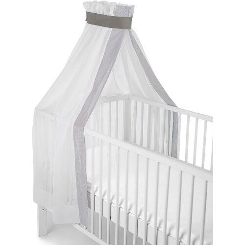 Sterntaler® Betthimmel »weiß-grau, für Kinderbett«