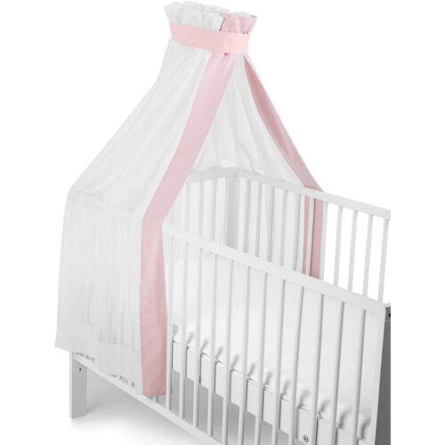 Sterntaler® Betthimmel »weiß-rosa, für Kinderbett«