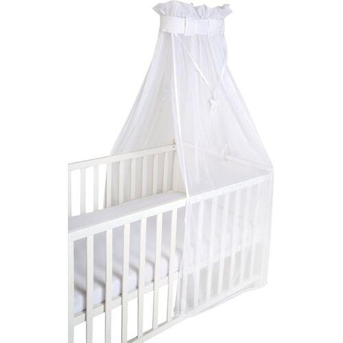 Roba® Betthimmel »Air safe asleep® uni, weiß, mesh«