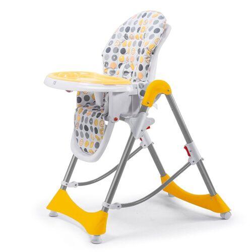 Baby Vivo Hochstuhl »Design Kinderhochstuhl aus Kunststoff - Tippy in Orange«
