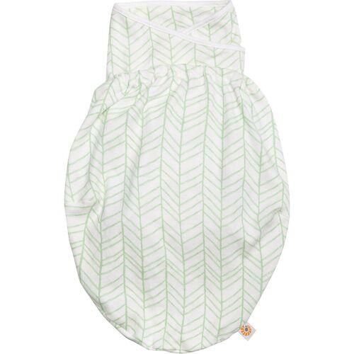 Ergobaby Babyschlafsack »Puck-Mich-Sack Original Swaddler - Bee Happy«, weiß Modell 1