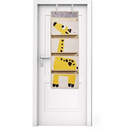 3 Sprouts Aufbewahrungsbox »Wandaufbewahrung Bär, 94 x 33 cm«, gelb