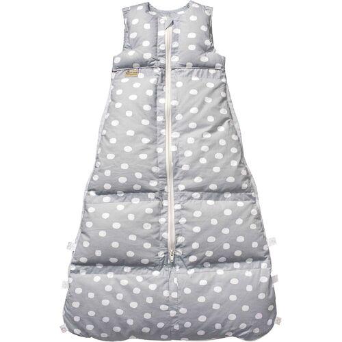 ARO® ARTLÄNDER Babyschlafsack »Winter-Schlafsack Daunen Silber Flocken, 80 cm«, grau