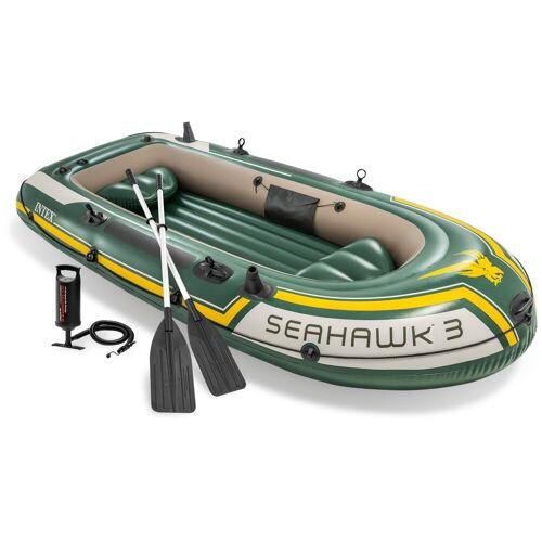Intex Schlauchboot »Seahawk 3«, (Set, -, mit 2 Paddeln und Luftpumpe)