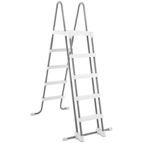 Intex Pool-Leiter für Pools von 132 cm Höhe, grau