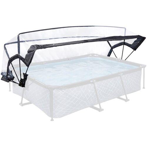 EXIT Sonnendach Überdachung für Pool ø300x200cm