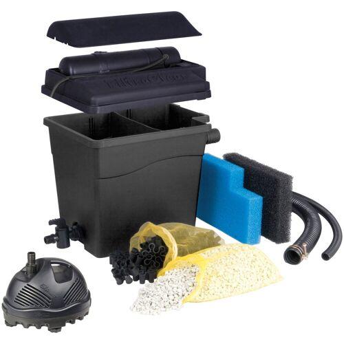 Ubbink Teichfilter »Filtra Clear 4500 Plus« (Set, Teichfilter (30 W); Teichpumpe (1.320 l/h); UVC-Gerät (5 W); 2 Filterschwämme; Filtermedien; Anschlussmaterial)