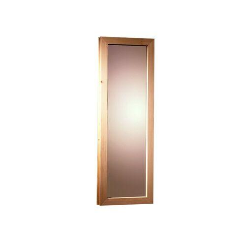 Karibu Saunafenster für Fassauna, BxH: 25x60 cm, natur