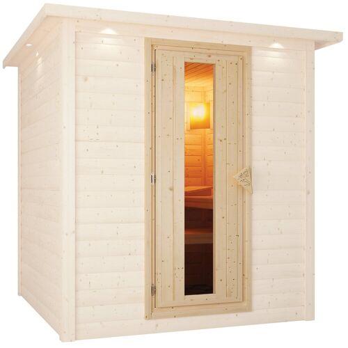 Karibu Saunatür für 68 mm Sauna, BxH: 64x173 cm, natur