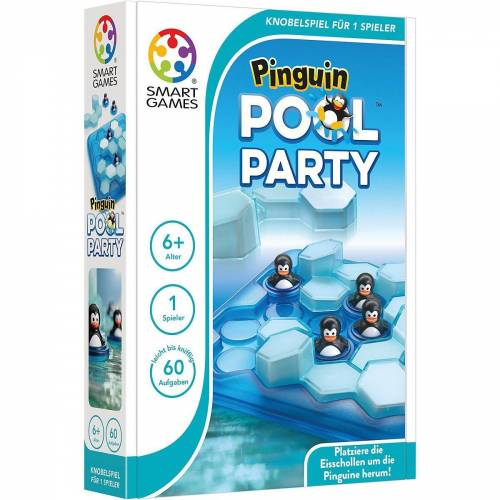 Smart Games Spiel, »Pinguin Pool Party«