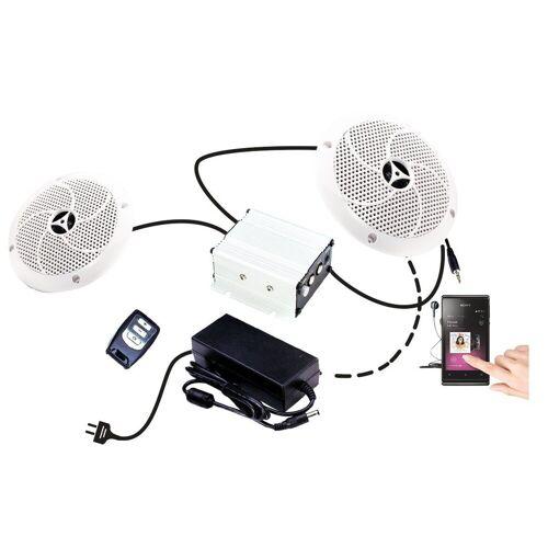Karibu Premium Lautsprecher (2 Stück mit Verstärker)