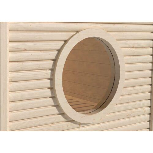 weka Saunafenster, Ø: 60 cm