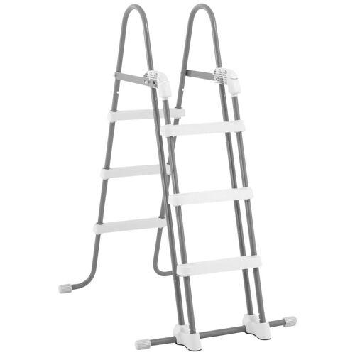 Intex Pool-Leiter für Pools von 91-107 cm Höhe, grau