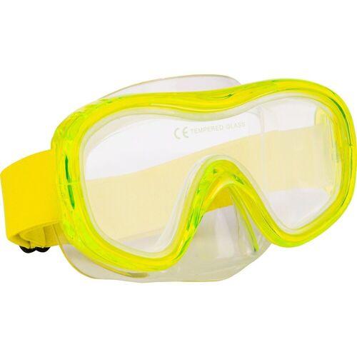 Tecno Pro Taucherbrille »Tauchmaske M5 C, grün«, grün