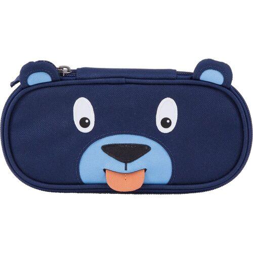 Affenzahn Stiftemäppchen Bär, blau