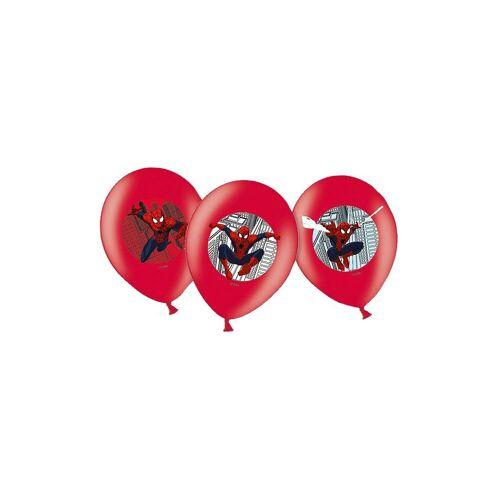 Amscan Luftballon »Luftballon Spider-Man, 6 Stück«