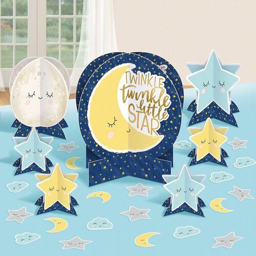 Amscan Papierdekoration »Tischdeko Twinkle Little Star 27-teilig«