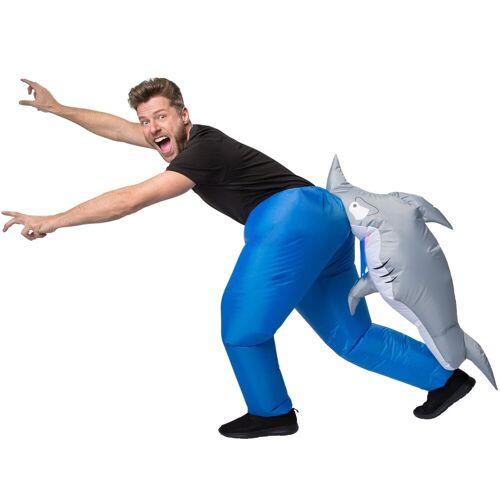 tectake Kostüm »Selbstaufblasbares Kostüm Hai«