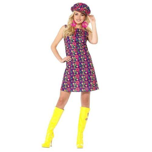 Smiffys Kostüm »Pippa Peace Hippie Kostüm«