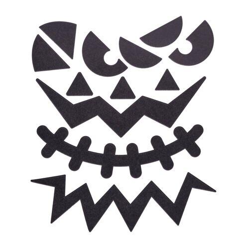 creativ company Sticker »Halloween Gesichter«, selbstklebend