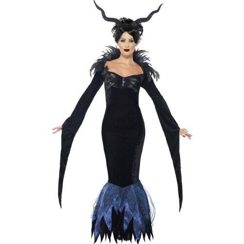 Smiffys Kostüm »Düstere Raben Lady Hexenkostüm«