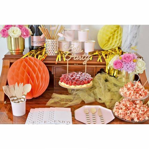 All Day Rosé Bridal Party Box, Bis 8 Personen, Mit Dankeskär