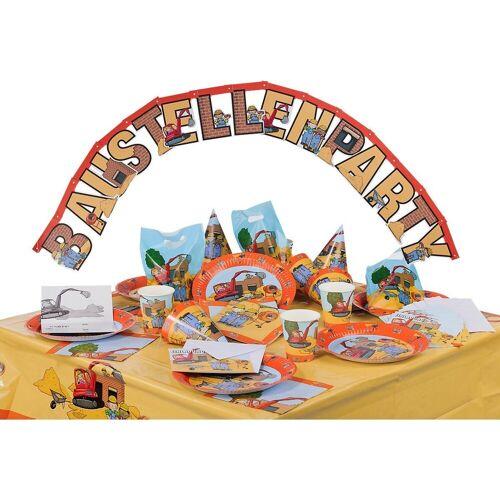 Happy People Kindergeschirr-Set »Party-Set Dragons, 62-tlg.«, mehrfarbig