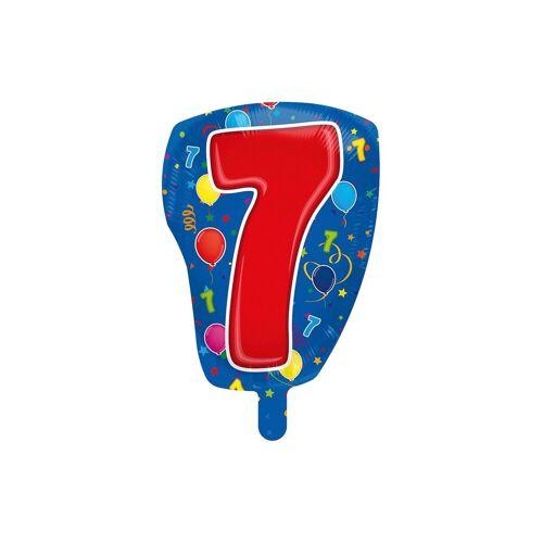 Folat Folienballon Zahl 7