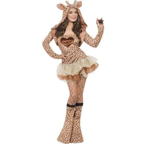 Smiffys Kostüm »Sexy Giraffen Damenkostüm«