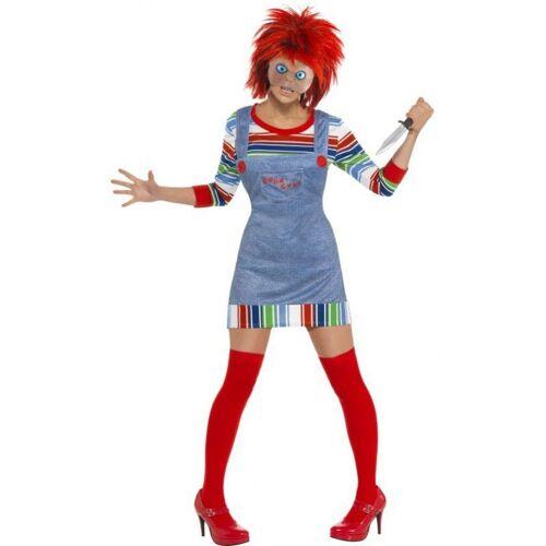 Mrs. Chucky Mörderpuppe Kostüm, bunt