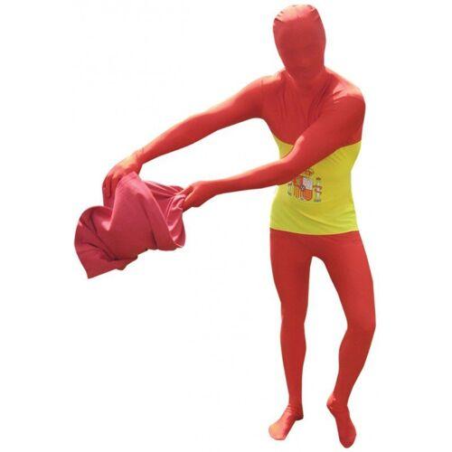 Morphsuit Spanien, rot-gelb