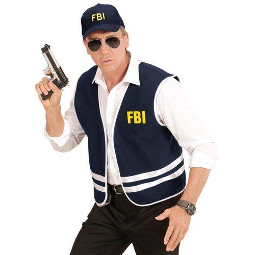 FBI Set 2-teilig für Erwachsene, blau-gelb