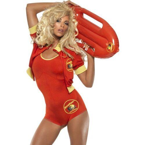 Sexy Baywatch Girl Kostüm, rot