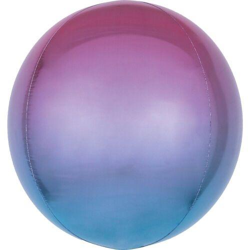 Amscan Folienballon »Ombré Orbz Lila & Blau Folienballon G20 verpackt«