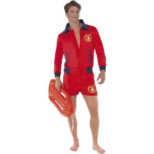Sexy Baywatch Boy Kostüm, rot