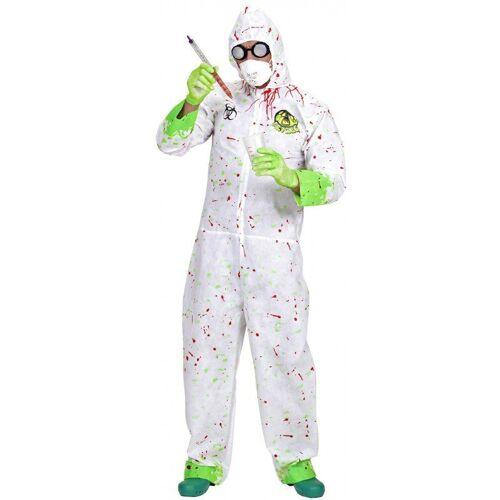 Dr. Toxic Zombie Chemiker Kostüm, weiß