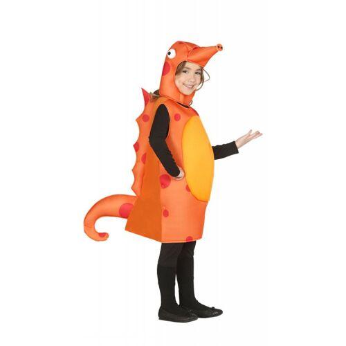 Seepferdchen Selina Kinderkostüm, orange
