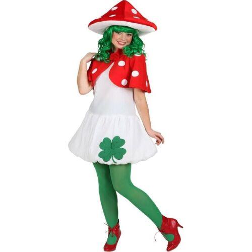 Orlob Kostüm »Fliegen Pilz Kleid Damenkostüm«