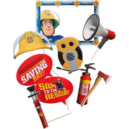 Amscan Fotorequisitenset Feuerwehrmann Sam, 9-tlg.